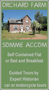 Somme accom Orchard Farm