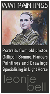 Gallipoli light horse artist