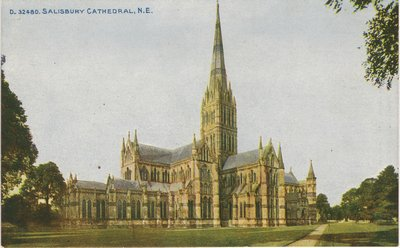Salisbury cathedral WWI