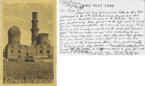 postcard from egypt 1915